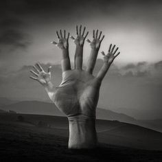 Creative black and white surreal photographs by MJTiccino, talented male photographer based in Philadelphia, USA.