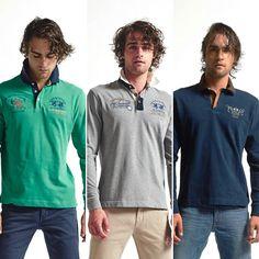 #LaMartina è un marchio argentino specializzato nella produzione di #Sportswear tecnico e accessori per il #polo che da qualche anno ha conquistato il mondo del #Fashion grazie alle sue proposte di abbigliamento ispirate alla moda #Casual-chic di gusto anglo-americano.  #polos #poloshirts #shirts #style #footwear #shoes #sneakers