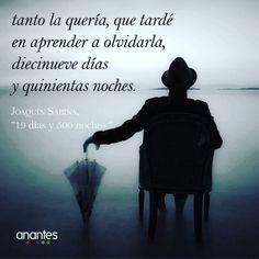 marthapalucho:  yekuana:  Lo que duran dos peces de hielo, en un whisky on the rocks… #JoaquínSabina #19DiasY500Noches @anantesgestoriacultural  Solo 500 noches