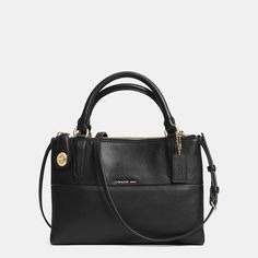 c975c9d8ba0f8 Mini Turnlock Borough Bag in Pebble Leather Inverno, Bolsas De Treinador,  Bolsas Da Coach