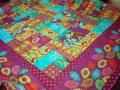 Molly quilt top