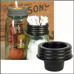 Amazon.com: Mason Jar Tapered Cup Lid: Home & Kitchen, $7.69
