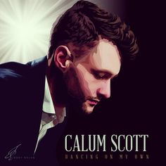 "A painting of Calum Scott was produced by Jessy Salas. Calum Scott like this work,too. He said ""Awesome work Jessy!"" on 23 August 2015."