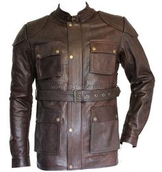 The Curious Case of Benjamin Button Leather Jacket | Stylees.co.uk - Motorcycle & Leather Fashion Clothing Store - Motorcycle Jackets, Helmets, Biker Boots, Leather Pants & Chaps