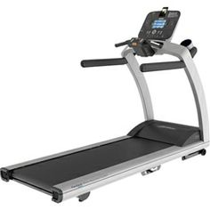 Life Fitness Track Treadmill, The new Treadmill with the Track Console can make any level of user feel comfortable. The treadmill allows the user to customize the firmness of the running deck among three different levels. Exercise Equipment For Sale, Exercise Bike Reviews, Home Workout Equipment, Fitness Equipment, Fitness Gear, Fitness Life, Treadmill Reviews, Home Gym Exercises