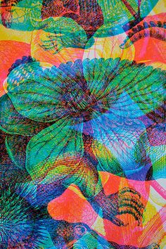 Textures Patterns, Print Patterns, Botanical Illustration, Illustration Art, Glitch Art, Pattern Wallpaper, Screen Printing, Graphic Art, Art Projects