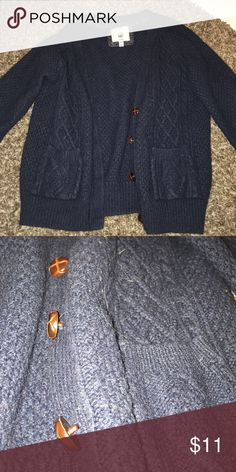 Sweater Feels like wool! Super cozy, bought it at forever 21 years ago. Sweaters Cardigans