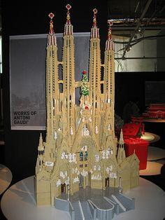 Sagrada Familia - Unesco Lego Exhibition by le_sloth, via Flickr
