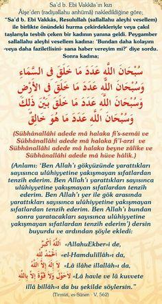 Bu duayı mutlaka okuyalım