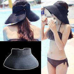 Summer Straw Hat //Price: $8.99 & FREE Shipping //     #woodenaccessories
