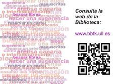Consulta nuestra web: www.bbtk.ull.es ¡No te pierdas nada!