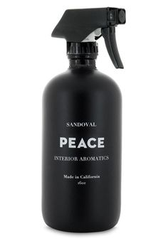 Peace Interior home spray  by Sandoval: The Scoop PEACE is a thoughtful blend of meditative, calming notes of palo santo, sandalwood, frankincense and patchouli that create a peaceful, calming feeling in you and your space. Palo Santo Essential oil can generate states of calmness and relaxation. This blend is beneficial for meditation, concentration and for enhancing creativity and learning. In spiritual aromatherapy, Palo Santo can be used to release negative energy, purify and cleanse the…