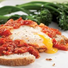 pancetta eggs breakfast