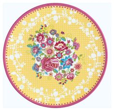 printable miniature plate (click for several designs)