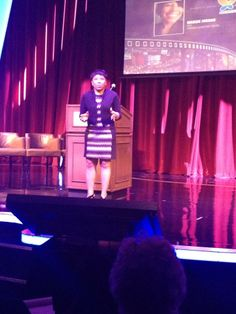 "I call this one ""Intense!"" Keynote Speaker - Las Vegas OSSN Travel Agent Forum."