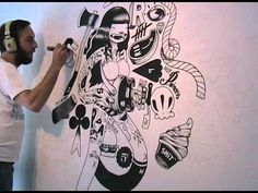 """mcbess drawing live for inkygoodness 4 """"PLAY"""""""