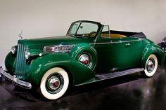 1939 Packard Super 8 Convertible Coupe - (Packard Motor Car Company Detroit, Michigan 1899-1958)