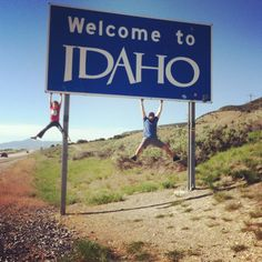Princesstard and Shay hanging out it Idaho (pun totally intended!) too cool!