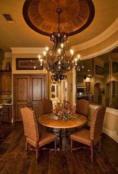 Tuscan Style Kitchen Tables home interior decorator dallas | interior decorating dining rooms