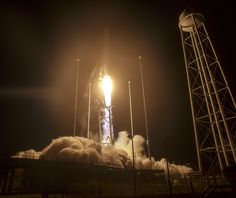 Liftoff of Antares R...