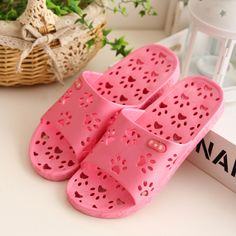 Bathroom slippers bath home summer home slippers leaking slip plastic sandals and slippers summer female couple - eBoxTao, English TaoBao Agent, Purchase Agent. покупка агент