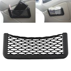 ceb82adc7d Car Net Organizer Pockets Net car storage second-generation Automotive mesh  Bag With Adhesive Visor