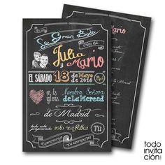Os 10 convites de casamento mais pinados na Espanha | Revista iCasei
