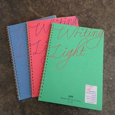Life: Writing Light Notebooks
