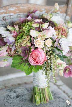 lovely pastel wedding bouquet ~  we ❤ this! moncheribridals.com