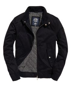Shop Superdry Mens Nordic Harrington Jacket in Super Dark Navy. Buy now with free delivery from the Official Superdry Store. Superdry Jacket Men, Men's Coats And Jackets, Mens Fall Jackets, Cool Jackets For Men, Harrington Jacket, Smart Outfit, Stylish Mens Outfits, Mens Clothing Styles, Men Sweater