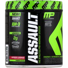 MusclePharm Assault Raspberry Lemonade 20 svg* | Regular Price: $34.99, Sale Price: TOO LOW TO SHOW! | OvernightSupplements.com | #onSale #supplements #specials #MusclePharm #PreWorkout  | Assault s pre workout formulation is the most advanced and complete pre workout system on the market Precision engineered to give athletes the ultimate performance advantage over the competition Assault s 5 Stage delivery system addresses every angle of performance Size Energy Focus Strengt