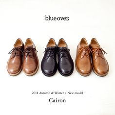 """blueover 2014 Autumn & Winter / New model """"Cairon"""""""