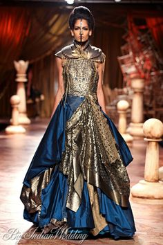 Shantanu Nikhil bridal gown