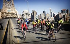 Five Boro Bike Tour - a great way to see New York city. Plus, speaking from personal experience, it's pretty cool having NYC traffic stop for you as you pedal through all of the boroughs!