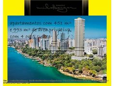 Apartamento de 4 dormitórios sendo 4 suítes Localizado no bairro Vitória de Salvador