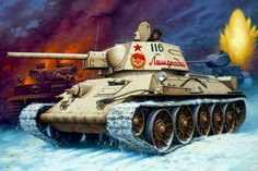 Medium tank T-34 Model 1943 / czołg średni T-34 model 1943
