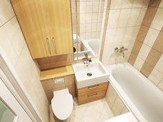 New Ideas bathroom remodel small bathtub vanities Master Bathroom Tub, Space Saving Bathroom, Tiny House Bathroom, Bathroom Layout, Small Bathroom, Eclectic Bathroom, Bathroom Interior Design, Ikea Laundry Room, Small Bathtub