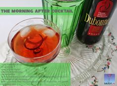 A refreshing cocktail made with Dubonnet fortified wine and gin, served over ice with twists of lemon and lime. Refreshing Cocktails, Cocktail Making, Latest Recipe, Fabulous Foods, Gin, Vodka, Alcoholic Drinks, Lemon, Stuffed Peppers