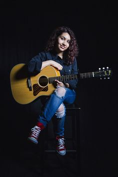 (FC: Alessia Cara) Hello, I'm Alessia, and I'm 17 years old and single. I'm neither a prep or a reject, I don't mind hanging with either of them. I love to play the guitar and write songs. So, introduce?