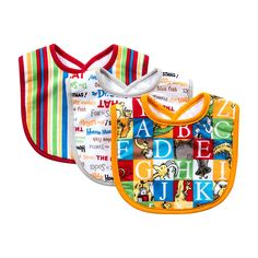 Trend Lab Dr. Seuss Alphabet Seuss Bib Set, 3 Count   Keep messes to a minimum with this stylish Dr. Seuss by Trend Lab alphabet seuss 3 pack bib set. Read  more http://shopkids.ca/trend-lab-dr-seuss-alphabet-seuss-bib-set-3-count/