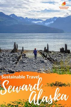 Sustainable travel guide to Seward, Alaska. Created by a local Alaskan packed with insider tips and local recommendations. Find the best eco-tours, farm to table restaurants, outdoor adventures to connect with nature, eco-accommodation, local businesses, and local experiences. Discover the best of Seward, responsibly, sustainably, and enjoy the best of this charming coastal fishing town. #sewardalaska #alaska #sustainabletravel #ecotourism