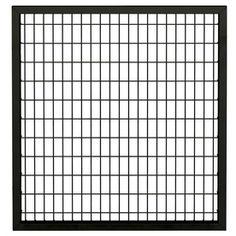Ironcraft Black/Powder-Coated Steel Fence Gate (Common: 47-in x 43-in; Actual: 47-in x 43.1-in)