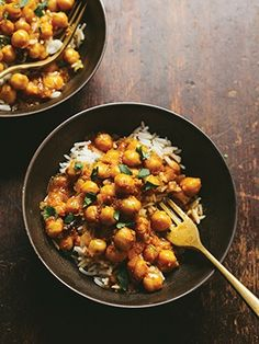 Recipes from The Nest - Curried Chickpeas