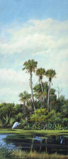 tropical landscape by Neil Adamson