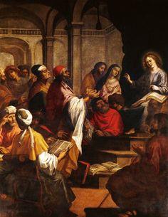 JOSE DO AVELAR ROBELO EL NIÑO JESUS PERDIDO Y ENCONTRADO EN EL TEMPLO 1635