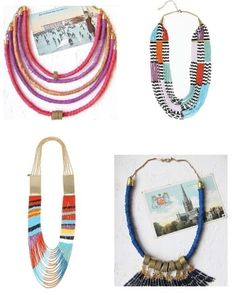 necklaces by EMTI