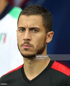 Eden Hazard of Belgium looks on during the UEFA EURO 2016 Group E match between Belgium and Italy at Stade des Lumieres on June 13, 2016 in Lyon, France.