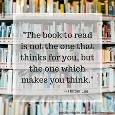 Something to think about. #quote #books #reading #inspire