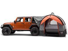 Perfect for camping Jeep Creep weekend! Jeep Tent, Suv Tent, Jeep Camping, Jeep Wrangler Camping, Jeep Wrangler Interior, Camping Tips, Outdoor Camping, Jeep Jk, Atvs