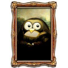 mona-lisa-tux-.png Mona Lisa More Pins Like This At : FOSTERGINGER @ Pinterest